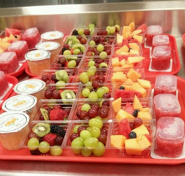 Fantastic Fruits at School Lunch