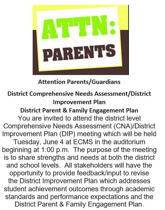 ATTN: Parents/Guardians