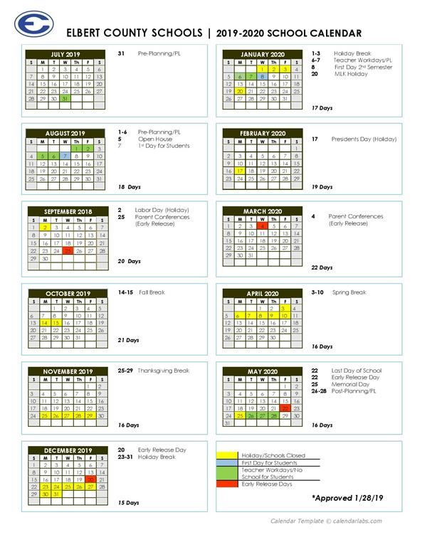 West Point 2020 Calendar 2019 2020 Academic Calendar / Home