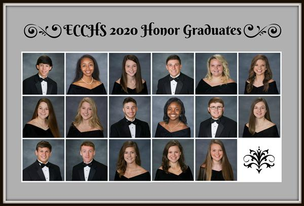 Class of 2020 Honor Grads!