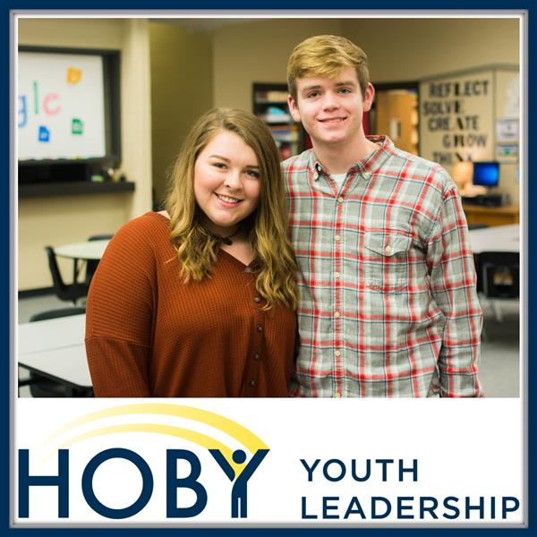 Lila & Ethan are HOBY Junior Staffers!