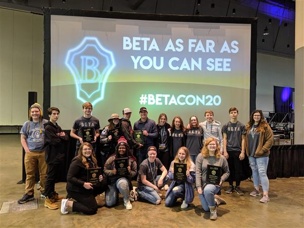 BETA Brings Home the Hardware!