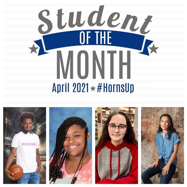 Apr. 2021 Academic Students of the Month