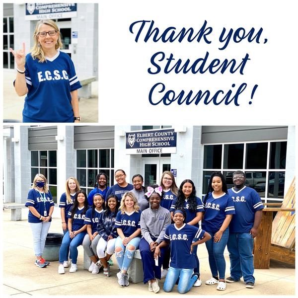 Thank you, Student Council!